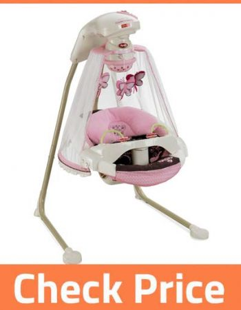 BABY SWING WITH LIGHTS AND MUSIC