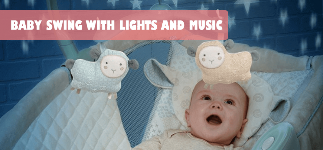 BABY SWING WITH LIGHTS AND MUSIC (1)