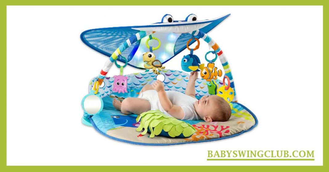 BEST BABY SWING WITH LIGHTS AND MUSIC