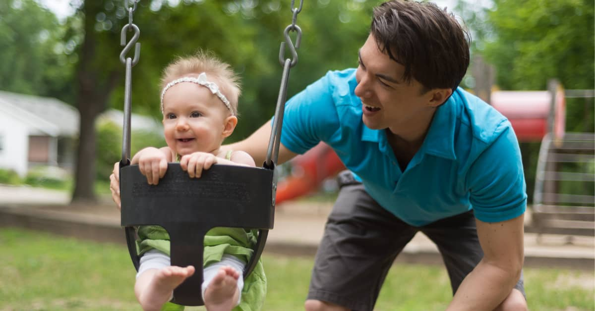When to stop using your baby swing? Baby swing age range
