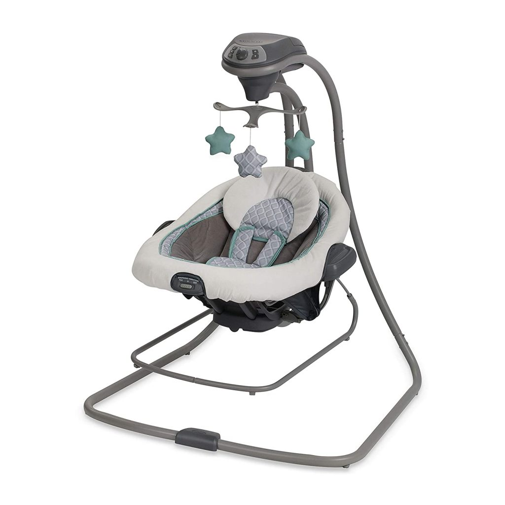 Graco Baby Vibration Swing plus Bouncer DuetConnect