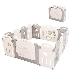 14 Panel Foldable Play Yard Cloud Castle by Fortella