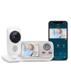 2 Room Audio Video Monitor by Motorola Baby