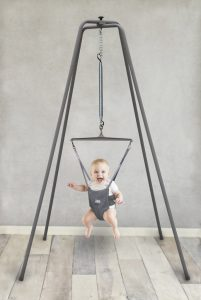 Jolly Jumper - The Baby Exerciser with Super Stand for Active Babies that Love to Jump and Have love to Fun