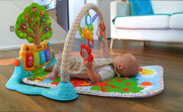 Best Mats for Baby Play Area with Lights