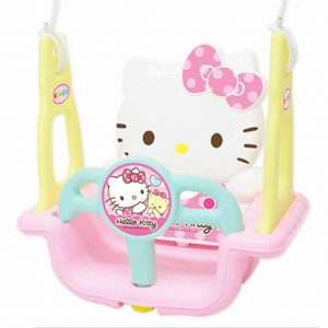 Hello Kitty Indoor And Outdoor Swing For Toddlers