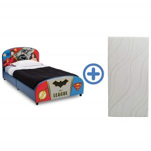 Junior Twin Bed Justice League By Delta Children