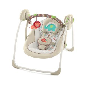 Ingenuity Cozy Kingdom Portable Baby Swing