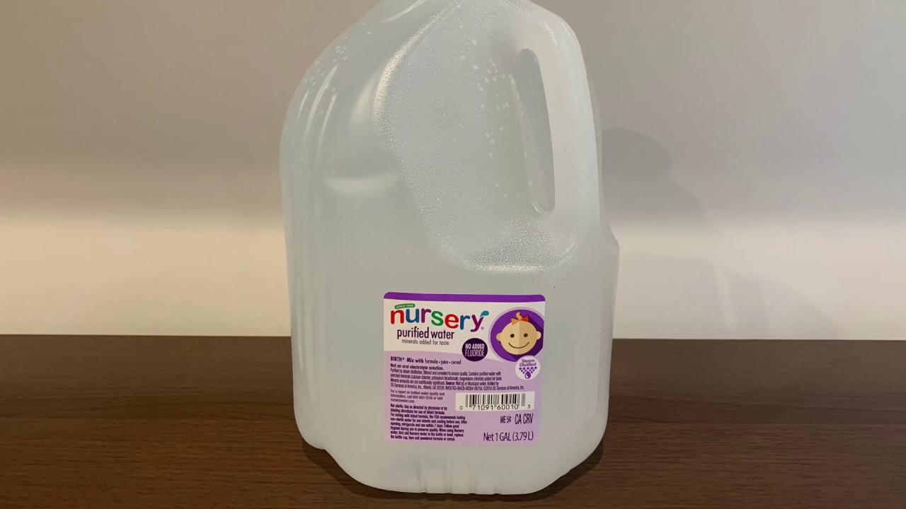 BEST NURSERY WATER FOR BABIES-REVIEWS FOR 2021