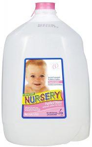 nursery water for babies
