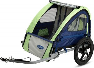 Instep Bike Trailer for Toddlers, Kids, Single and Double Seat,