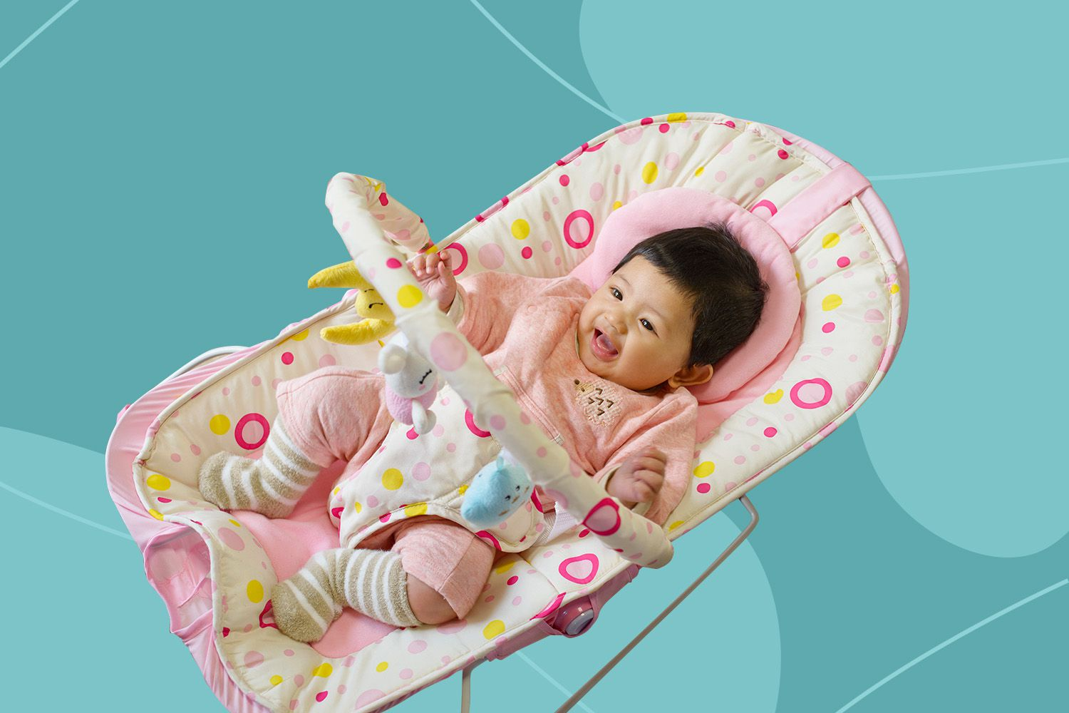 Advanced Automatic Wind Up Baby Swing For Your Kid