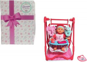 DREAM COLLECTION 1 Baby Doll 4-in-1 High Chair Play Set