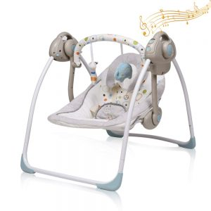Portable Electric Swing for Babies By IECOPOWER