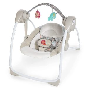 ingenuity soothe portable baby swing