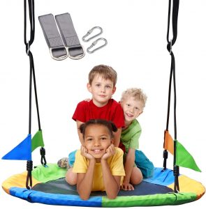 4379 Playground Swing by Suny Smiling