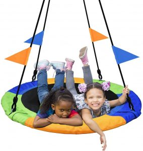 A Swing Ride for Children and Adults